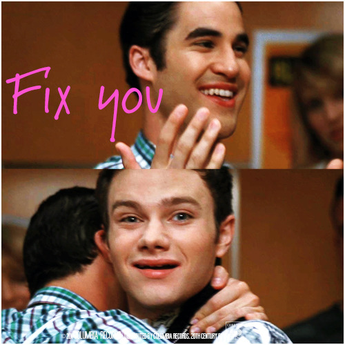 3x03 Asian F | Fix You Alternative Cover 'Klaine Gaze Collection'