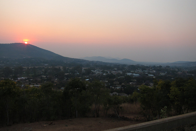 Sunset in Chipata on Flickr.