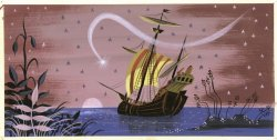 thefundaynews:  Mary Blair-  concept art for Disney's Peter Pan
