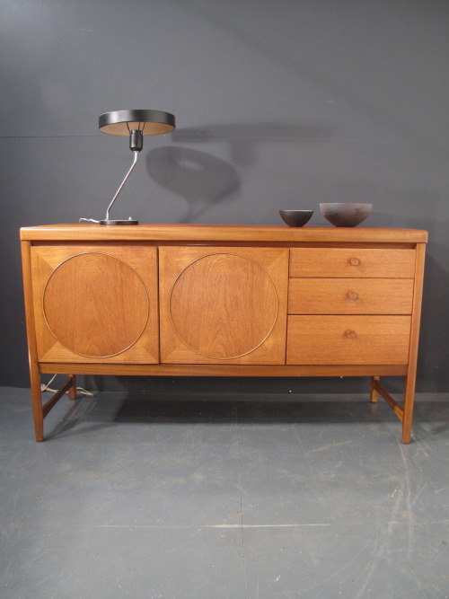 1970s nathan circles teak sideboard.  rare short size - excellent condition. SOLD