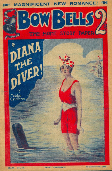 Bow Bells: Diana the Diver! - September 4th 1920