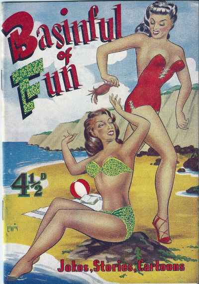 Basinful of Fun was a British men's mixed-interest magazine booklet which ran from WW2 until the 1950s.