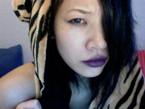 i love this color, but it needs a lipliner :x