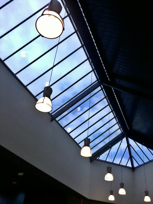 school library skylight