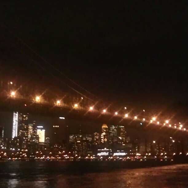 @pncradio at #night #BrooklynBridge