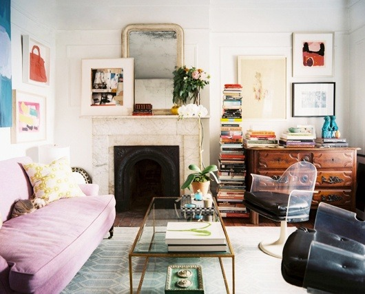 thedecorista:  the sweetest little new york apartment…