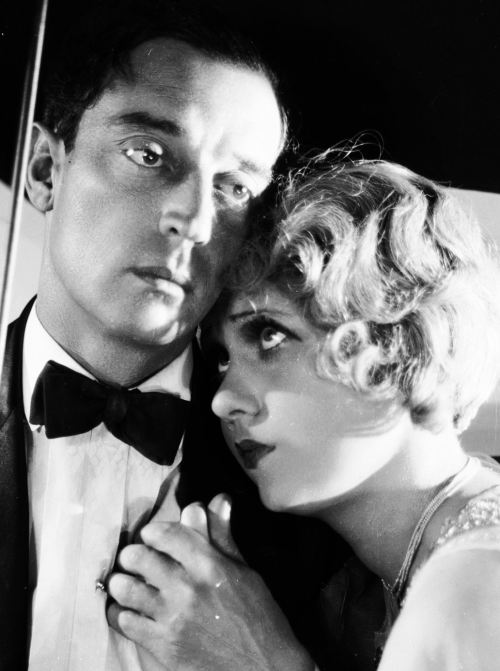 bobertsbobgomery:  Buster Keaton and Anita Page for Free and Easy, 1930