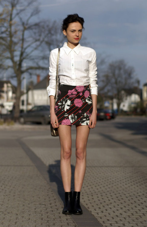 We think 22-year-old Martyna W. has the best style of the day! If you have style to spare, click here for a chance to get on our Snapshot blog »