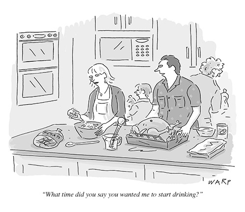 nevver:  The New Yorker  Thanksgiving week is upon us.