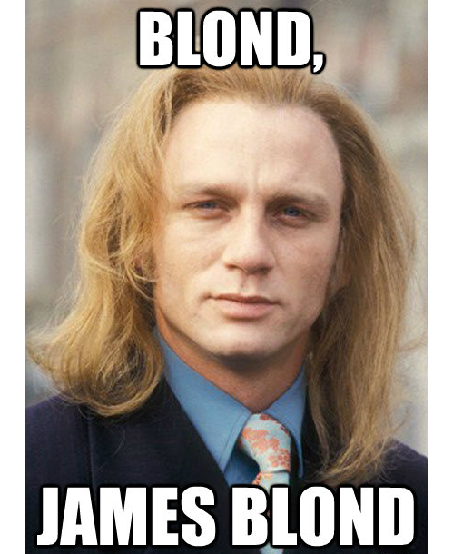 mallox:  My name is Blond