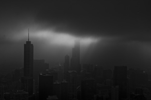 Gloomy Chicago by Gregory O'Shea Photography