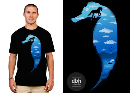 SEAHORSE T-shirt available @ Designbyhumans.com