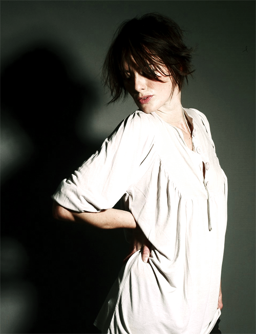 Lena Headey photographed by Rankin Waddell, 2007.