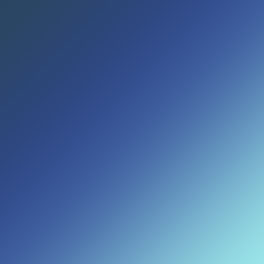 TFT, 2012, gradient based on colors of Tumblr, Facebook and Twitter logotypes, by Gregor Rozanski