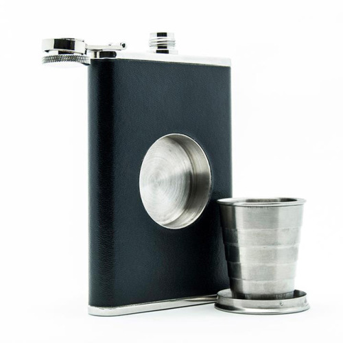 sneaky sips. via laughingsquid: Shot Flask, A Drinking Flask De
