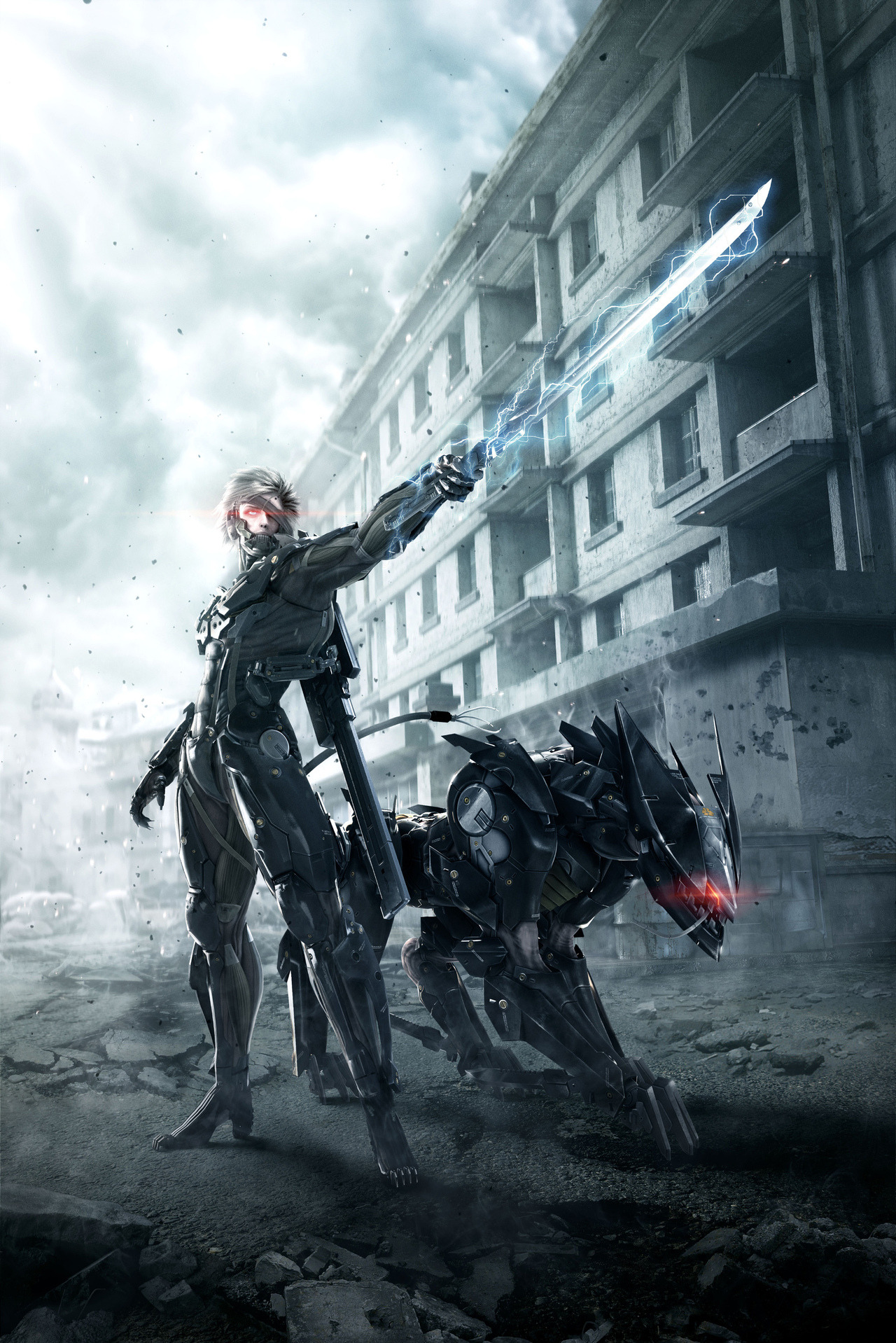 galaxynextdoor:  Metal Gear Rising Promotional art
