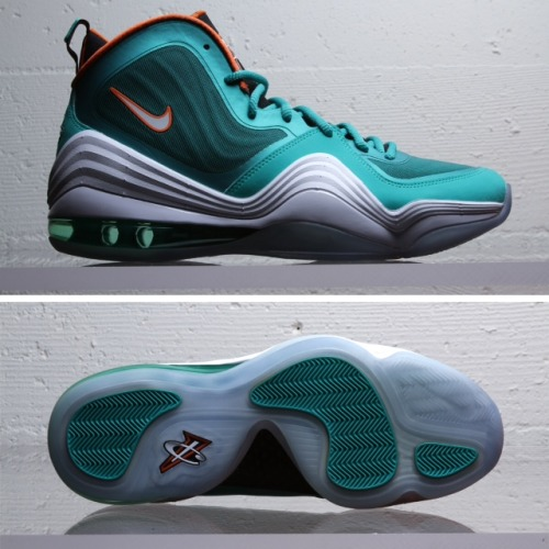 Nike Air Penny V Dolphins. Out NOW.