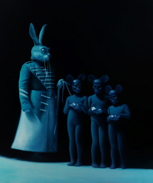 Hour of the Rabbit by ~gottfriedhelnwein