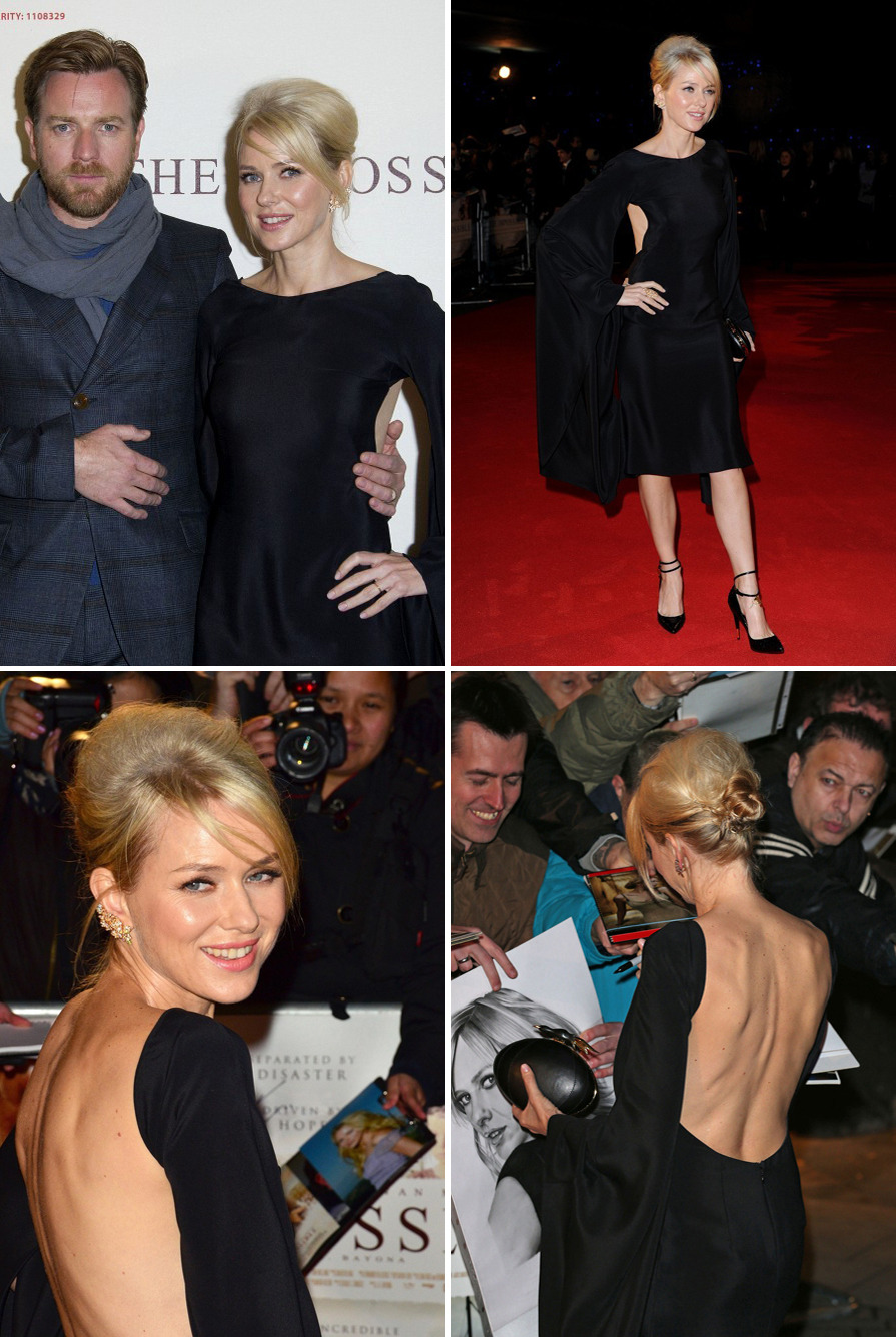 Naomi Watts & Ewan McGregor - The Impossible UK premiere, November 19th 2012