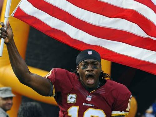 urbynloft:  Robert Griffin III wins offensive player of the week for second time