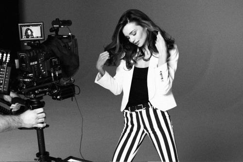 Miranda Kerr is the new face of Mango.