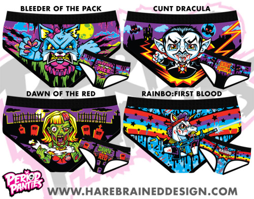Period Panties by Harebrained! Only $7!