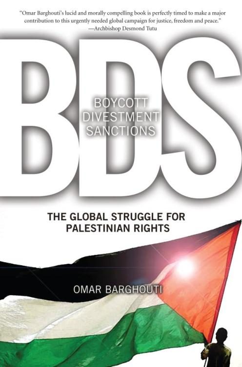 "socialismartnature:  International boycott, divestment, and sanctions (BDS) efforts helped topple South Africa's brutal apartheid regime. In the context of Israel's latest assault on Gaza, a global BDS movement against Israel's rapacious occupation is necessary - and possible to organize - now more than ever  Here's what Electronic Intifada founder Ali Abunimah had to say about Barghouti's book, BDS: ""Barghouti explains with lucidity, passion, and unrivaled intelligence…that bringing an end to apartheid in Palestine and seeing justice and equality for all the people who live there is not a distant dream but a reality we can bring about in the next few years using BDS."""