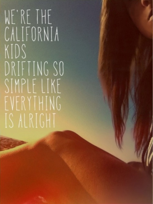 "bahama-llama:  11.20.12 ""We're the California kids, drifting so simple like everything is alright"" - the royal sons Strands at Salt Creek Beach"