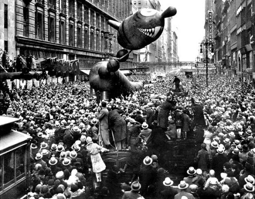 collective-history:  Macy's Thanksgiving Day Parade, 1931