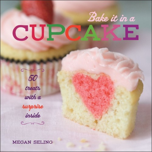 ITEM OF THE DAY: ITEM OF THE DAY: BAKE IT IN A CUPCAKE COOKBOOK AND GIVEAWAY!by Chrissa Hardy http://bit.ly/UfBGI1