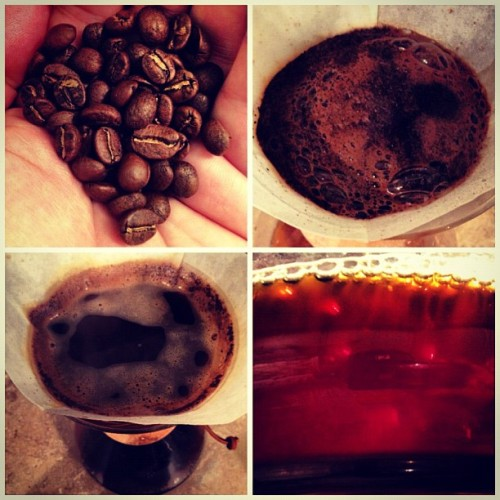 grimpeurbrosspecialtycoffee:  This #COE finalist from El Salvador is tasty (today's #morningcup) but it didn't make the cut for our Grimpeur Bros. Holidays plans…Stay tuned! #coffee #SingleOrigin #espresso #SpecialtyCoffee #Grimpeur #CupOfExcellence #ElSalvador  DISCLOSURE: I am a co-founder and one of the Grimpeur Bros.