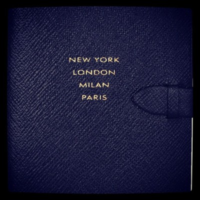 archive-m:  I want it!! :p #runwaynotebook #smythson #fashion #style #catwalk