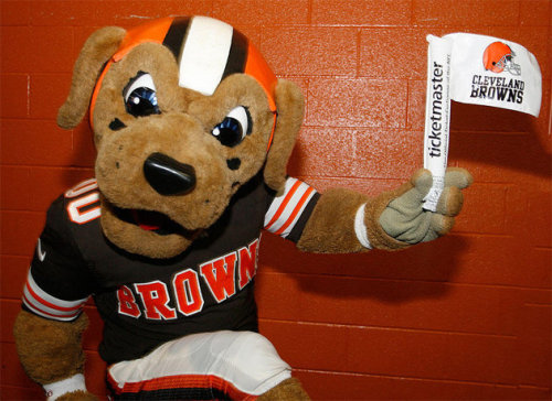 The Cleveland Browns are handing out white flags this Sunday I've never loved a team that's made me hate watching a sport so much.
