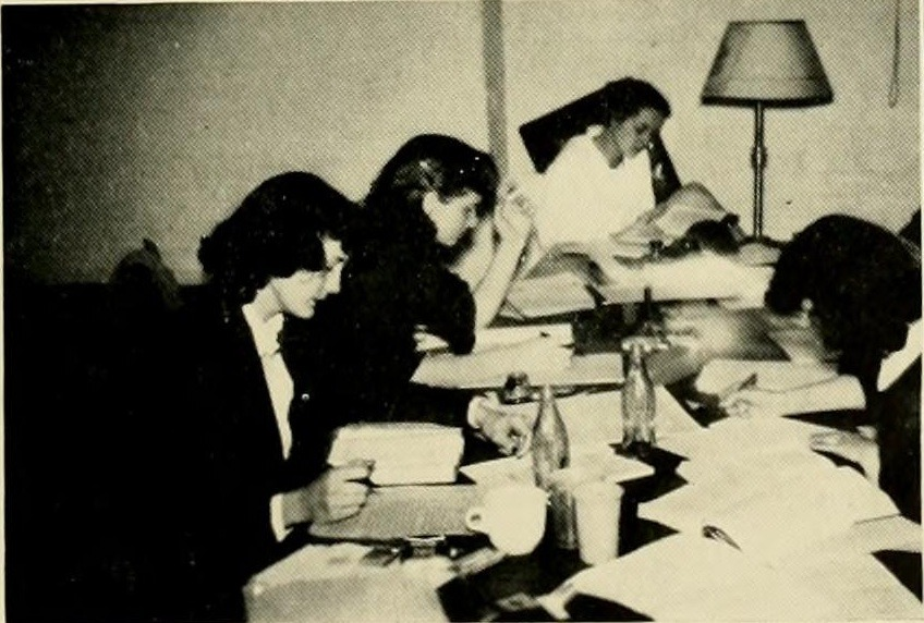 1949 Briar Patch- Studying hard