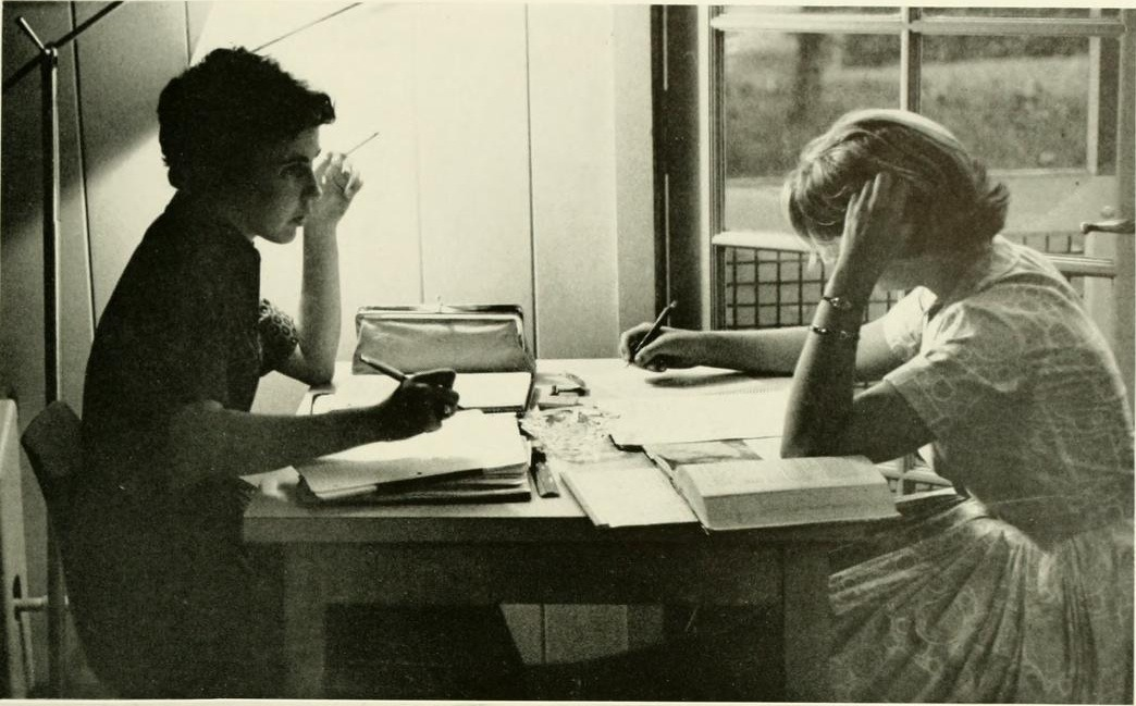 1961 Briar Patch- studying is always better with your friends