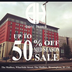Beni Huwa up to 50% #Sale starts this #Friday