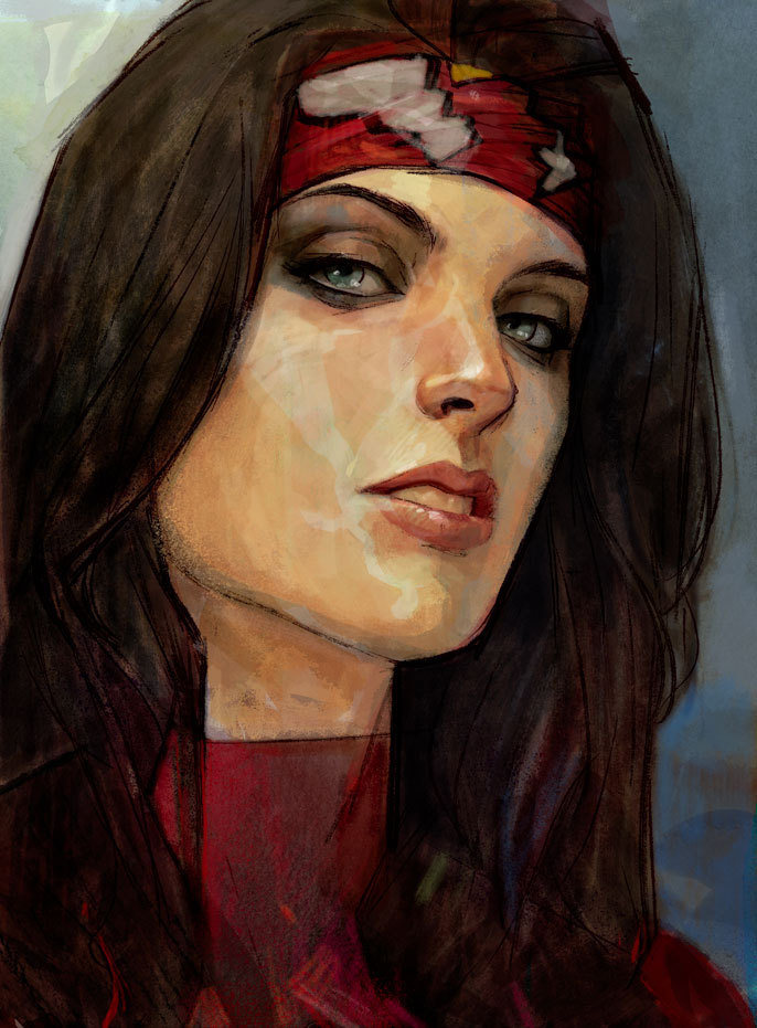 comicsareart:  Spider-Woman by Alex Maleev
