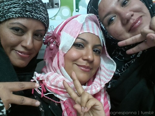 say Salam to our new sisters… Sis Gabbee & Sis Sam* :) somos cholas