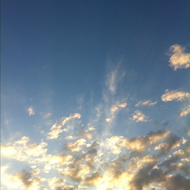 Afternoon sky #nofilter