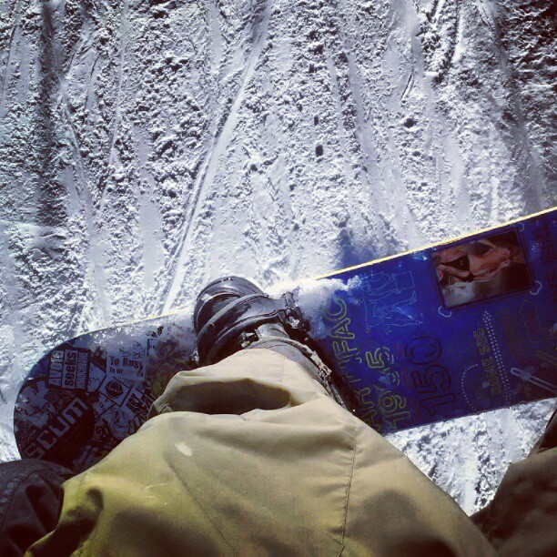 First runs of the season. No complaints here. #MTHIGH