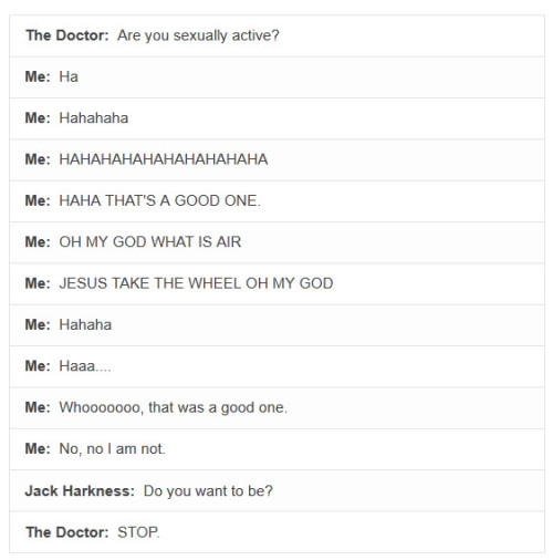 "silencewillfalldoctor:  221benedicts:  I thought this was about Doctor Who at first, but then I was like ""Oh, it's just a normal doctor"" but then it was about Doctor Who.  it's always about Doctor Who."