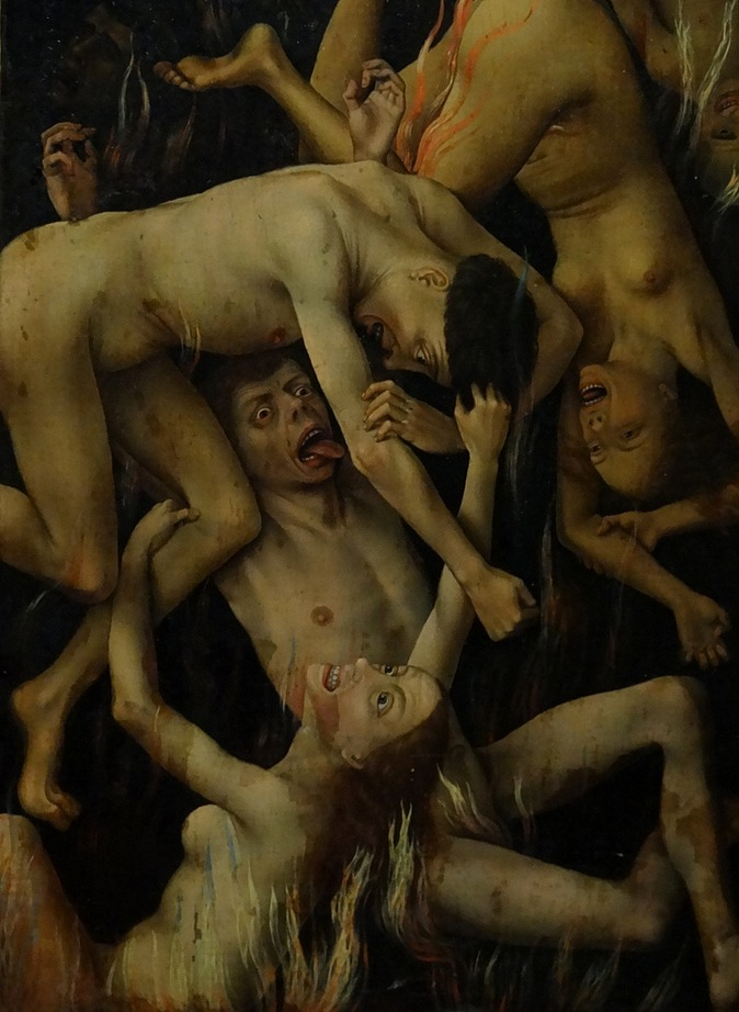 Rogier van der Weyden The Last Judgment Polyptych (detail) 1446-1452