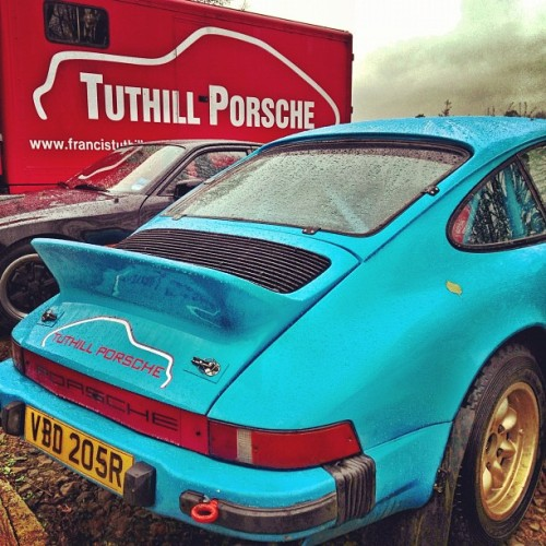 First trip to @Tuthill_Porsche for a few weeks. #porsche #rally
