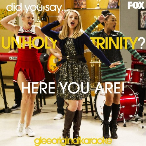 imbraveheart:  DID YOU SAY… UNHOLY TRINITY?