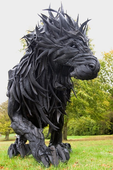 refriedhippie:  Made of Tires