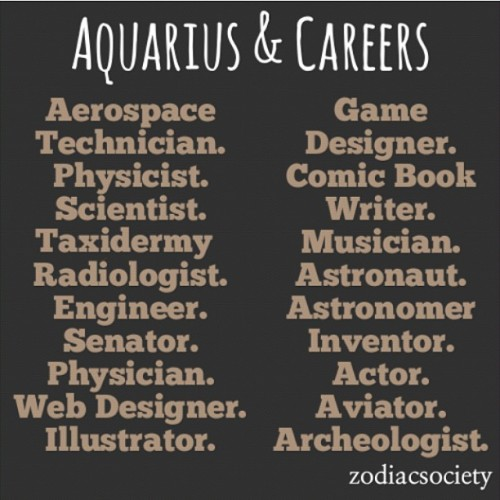 worldofaquarius:  What do you want to become? #teamaquarius (credit to ZodiacSociety)  wooo aviator and aerospace
