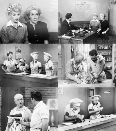 justlikethistrain:  I Love Lucy season 2, episode 1