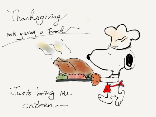 never celebrate thanksgiving, but chicken? ??   anytime!