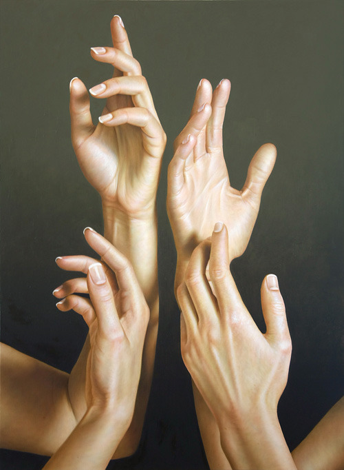 artchipel:  Omar Ortiz - Four. Oil on linen, 120x90 cm (2010) [Tumblr Monday with fer1972]