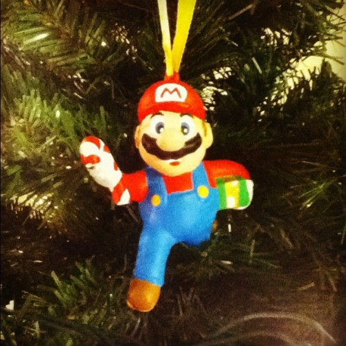 Rare 90s Mario is on the tree. Christmas can now begin. #nintendo #mario #supermario #ornament #Christmas #xmas #holiday #tree #picoftheday #photooftheday #popular #popularpage #igers #insta #igdaily #instago #igaddict #instagood #instalove #instamood #iphonesia #instadaily #instafollow #instagramhub #jj #jj_forum